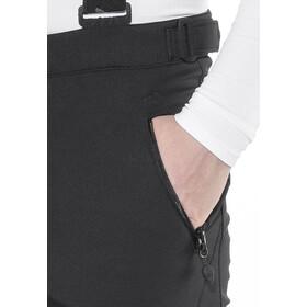 Maier Sports Lothar 2 Pantaloni da sci Softshell corto Uomo, black